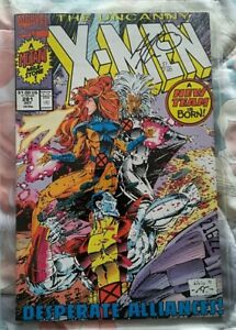 Uncanny X-Men # 281 signed with certificate of authenticity, Art Thibert, 1991