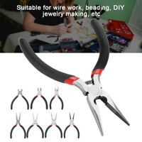 7 Styles Nose Pliers Tool Hand Tool for DIY Jewelry Making Flat/Cutting/Diagonal