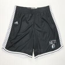 New adidas Brooklyn Nets Basketball Short Women's Medium Black