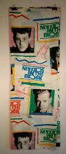 Vtg New Kids On The Block Nkotb 2 Piece Bedroom Sheet Set 1990