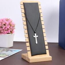 Wooden Studs Earrings Display Board Bracelet Rack Stand Necklace Organizer