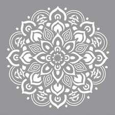 "Americana Decor Stencil 12""X12"" Mandala 766218083654"