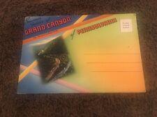 Vintage Postcard Folder Unposted Grand Canyon Of Pennsylvania Pa
