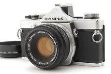【N MINT+++】Olympus OM-1N 35mm SLR Film Camera 50mm f/1.8 From JAPAN