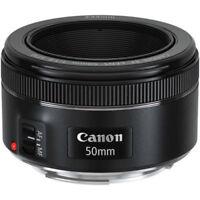 Canon EF 50mm f/1.8 STM Lens Ziel Neu Lieferung sofortige aus Italien