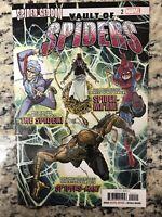 Spidergeddon Vault Of Spiders #2 (2018, Marvel)