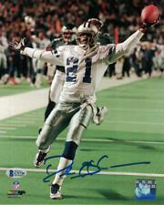Deion Sanders Autographed/Signed Dallas Cowboys 8x10 Photo JSA 22383