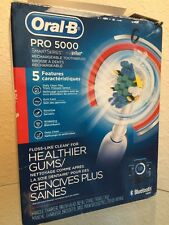 Oral B Pro 5000 Smart Series Bluetooth Electric Toothbrush. Read Description.