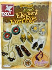 Jewel making Kit-Quiling Quilling paper,hook,comb,jump rings+Free 3D dome mold