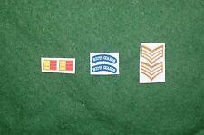 1/6 WW2 British Scots Guards épaule titres patch set Lot