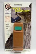ELK Inc. Yote Howler Coyote Predator Call Barks Yips Howls Distress w/Lanyard