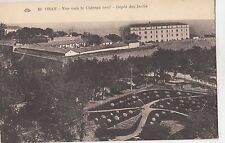 BF18990 oran vue vers le chateau neuf depot des isoles  algeria front/back image