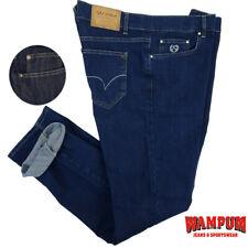 Jeans da Uomo Slim Fit Elasticizzati a vita alta Semplici WAMPUM 54 56 58 60