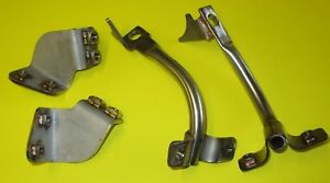 Fits Suzuki GS1000S Fairing Bracket Set. Stainless construction UK made