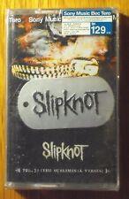 Slipknot Vol 3 The Subliminal Verses + Tag Thai Cassette Seal   OOP