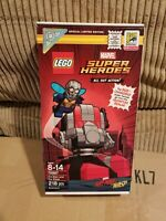 New, Sealed Lego Marvel 2018 SDCC Exclusive Antman and The Wasp 75997