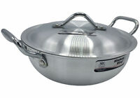 Perfect Chinese Cooking Wok Stir Fry Frying Pan Karahi Pans Kitchen