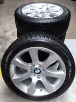 4 BMW Winterräder Styling 330 6790176 5er F10 F11 6er F12 245/45 R18 100V M+S