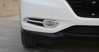 ABS Chrome Front Fog Light Lamp Cover Trim  For Honda Vezel HR-V 2016-2018