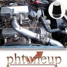 BLACK 1987-1993 FORD MUSTANG 5.0 5.0L GT LX V8 OHV COLD AIR INTAKE KIT