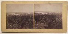 Lac Kasha-Bogamog ? Canada Photo Stereo Vintage Albumine c1865