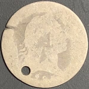 """1795 """"LM-9 R4"""" Flowing Hair Half Dime - Great Type Filler - Won't Find Cheaper!"""