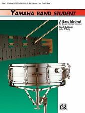Yamaha Band Student Book 1 Combined Percussion All Ages Textbook Beginner Drum