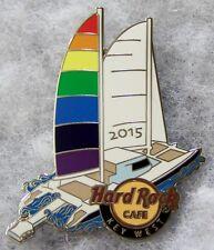 HARD ROCK CAFE KEY WEST GAY PRIDE SAILBOAT PIN # 54458