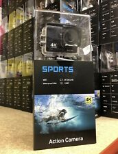 4K Ultra HD Deportes Acción Cámara 30m bajo el agua Wifi Pantalla Táctil LCD