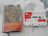 LOS GUAYAKI CINTA TAPE CASSETTE 1976 SPANISH ED AF STEREO PAPER LABELS