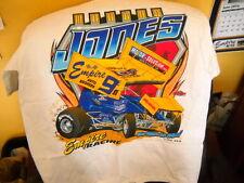 #9m Marlon Jones 410 Sprint Car Racing T Shirt NEW shirt Large Huset's HOF