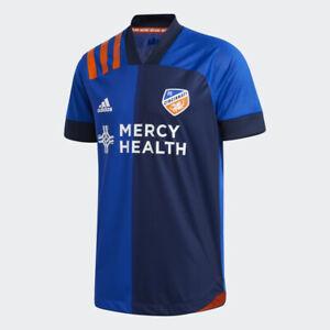 Adidas 2020/2021 FC Cincinnati Home Blue Authentic Aeroready Jersey EH8678 NWT