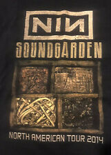 Vintage Soundgarden /Nine Inch Nails 2014 Large Wantagh Ny. Mint Condition