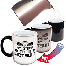Scuba Diving Mugs Ow My Other Outfit Is A Wetsuit Snorkelling Dive Magic Mug