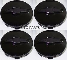4 x BLACK Chevy Suburban Tahoe Center Caps 9596403 3.25 18 20 22 inch  Wheels