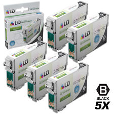 LD© Replacements for Epson T127 5pk HY Black Ink T127120