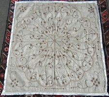 Indian Gaze & Métal Filetage Graine Perle Broderie Wall Hanging Couvre-Lit Tapis