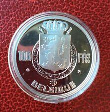 Belgique - Refrappe officielle Monnaie Royale - Rare  100 Francs  1950 FR Argent