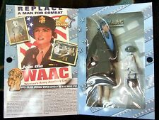 """2001 GI JOE 1/6TH SCALE ULTIMATE SOLDIER WACC WOMENS ARMY 14"""" BOXED MISB FIGURE"""