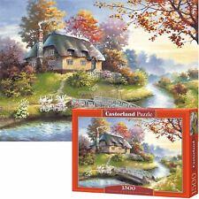Castorland 1500 Piece Jigsaw Puzzle Cottage