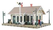 HO Scale Model Train Depot