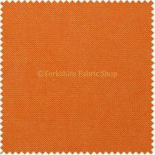 Easy Clean Waterproof Plain Fabric Outdoor Indoor Upholster Curtain Craft Orange