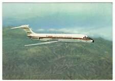 Postal avión Jet Douglas DC-9 serie 30 de Iberia