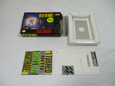 OUT OF THIS WORLD Super Nintendo SNES Authentic Box & Inserts NO GAME CART!