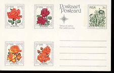South Africa 1979 Roses, Flowers Postcard Unused  #C13785