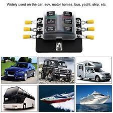 for car boat caravan 12v 24v 6 way blade fuse box holder blade fuse blocks S6U8