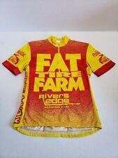 Fat Tire Farm Rivers Edge Athletic Club GT Kona MTB Cycling Jersey Unisex Adult