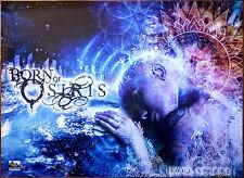 BORN OF OSIRIS Soul Sphere Ltd Ed HUGE RARE Poster +FREE Metal Rock Prog Poster!