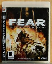 Fear First Encounter Assualt Recon - PLAYSTATION 3 - Pal Esp - Physical - Full