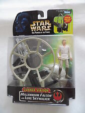 Star Wars Gunner sation Millennium Falkon with Luke Skywalker de kenner neuf dans sa boîte